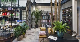 英国伦敦The Shop at Bluebird体验式零售店设计